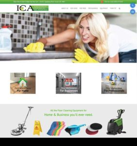 ICA website design