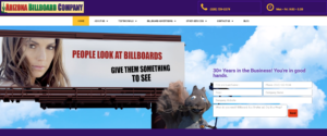 arizona billboard company website