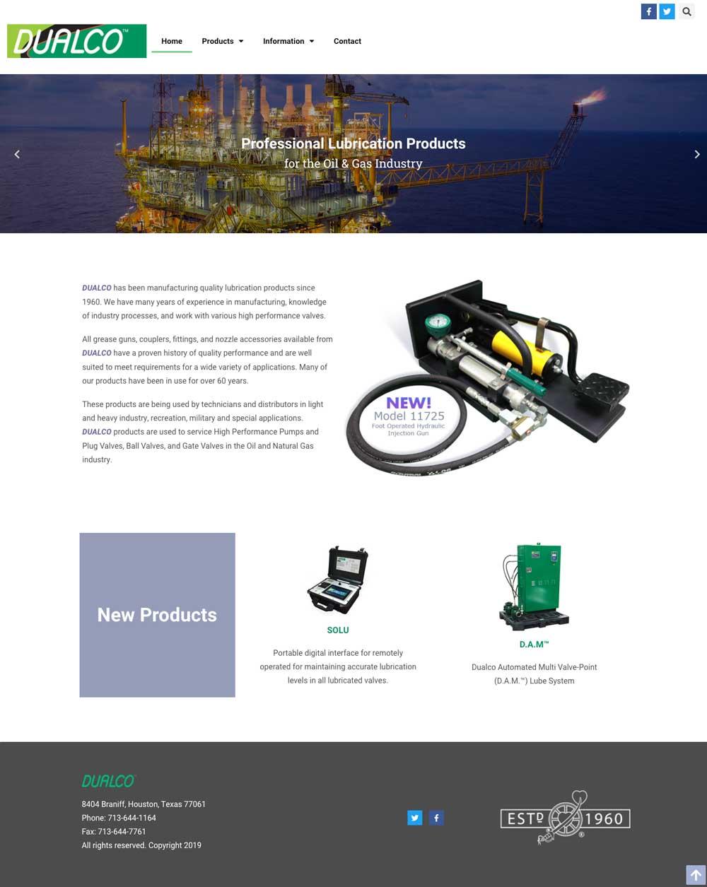 dualco web design tucson arizona