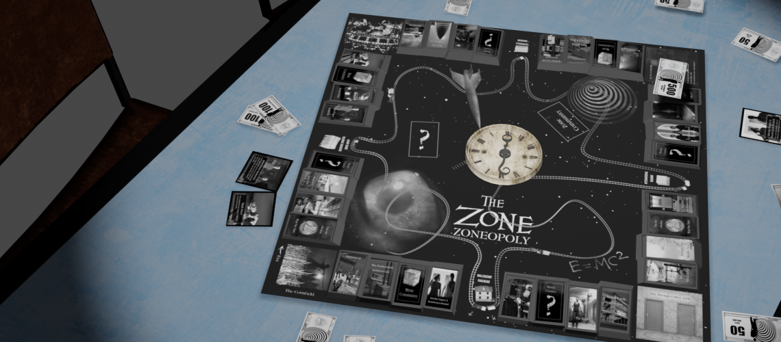 zoneopoly on table